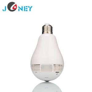 CCTV Camera Factory Price 360 Panoramic Light Bulb Camera pictures & photos