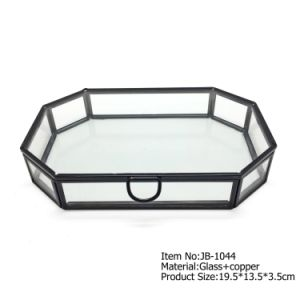 Hot Selling Crystal Jewelry Box Preserved Fresh Flower pictures & photos