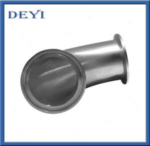 Sanitary 90 Degree Elbow Flange Ends pictures & photos