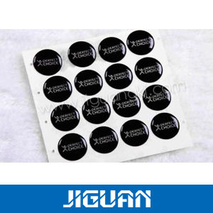 High Stickiness 3m Backed Self Adhesive Weatherproof Clear Transparent Dome Sticker pictures & photos