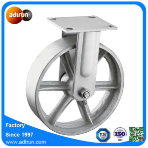 Heavy Duty Fixed Steel Casters Industrial Wheels with Roller Bearing pictures & photos
