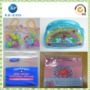 Customized Printing PVC Zip Lock Bag (JP-plastic027) pictures & photos