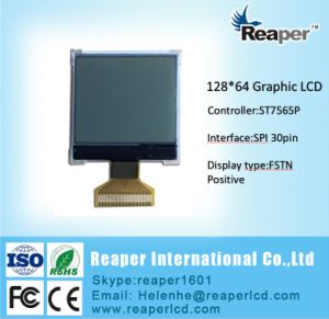 Stn 128X64 Graphic LCD Display for Industrial. Medical. equipment pictures & photos