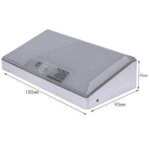 Aluminum Alloy Frame Outdoor Wireless 48 LED Motion Sensor Security Solar Light for Garden Yard pictures & photos