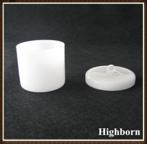Milky White Melting Silica Quartz Crucibles with Lids pictures & photos