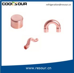 Copper Fitting of 90° Bent a for Best Price pictures & photos