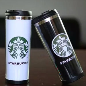 450ml Double Wall Gift Coffee Travel Mug (R-2174) pictures & photos