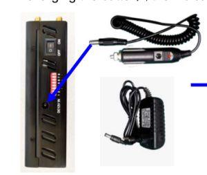 Car GPS, Cellphone, WiFi, Lojack Wireless Signal Jammer/Blocker; Handheld 8 Antenna GSM/3G/4G Cellular Phones+GPS+Wi-Fi+Lojack Jammer pictures & photos
