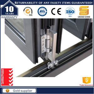 Aluminum Black Frame Bi-Folding Door pictures & photos