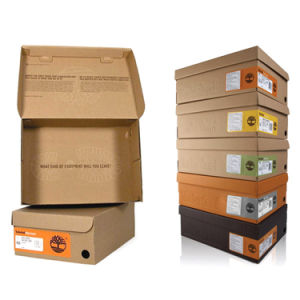 Color Printing Paper Packaging Shoe Box pictures & photos