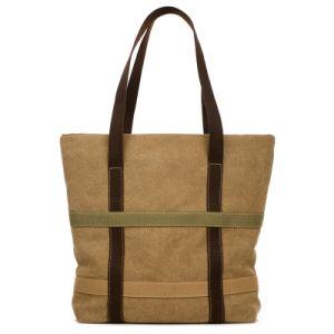 Fashion Wholesale Custom Cotton Tote Women Handbag Canvas Bag pictures & photos
