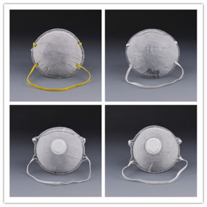 Disposable Non-Woven Dust Mask with Valve for Spray pictures & photos