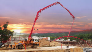 XCMG Official Manufacture Hb34k Concrete Pump with Mixer pictures & photos