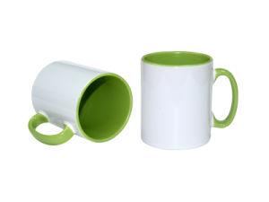 DIY Ceramic Coated Heat Press Transfer Printing Sublimation Blank Mug pictures & photos