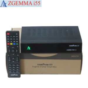 Original Linux OS Enigma2 IPTV Streaming Box Zgemma I55 High CPU Dual Core USB WiFi Player pictures & photos