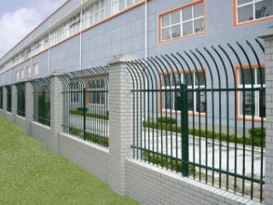 No Climb High Security Steel Metal Fence Panels pictures & photos
