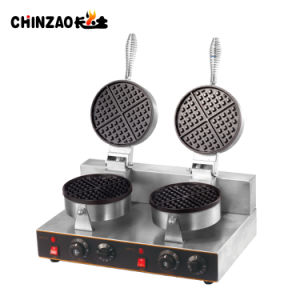 Double Electric Egg Taiyaki Automatic Waffle Maker Machine pictures & photos