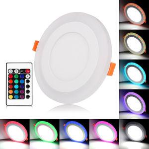 AC85-265V 3W 6W 9W 12W 18W Round 600X600 LED Panel Light pictures & photos