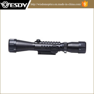 3-9X40 Red Green DOT Outdoor Optics Sniper Hunting Scope Sight Free Mounts54.3 pictures & photos