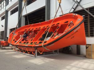 Solas Open Type Life Boat with Engine for 42 Persons pictures & photos
