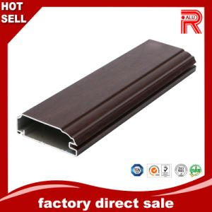 Aluminum/Aluminium Extrusion Wooden Grain Profile for Building Window pictures & photos