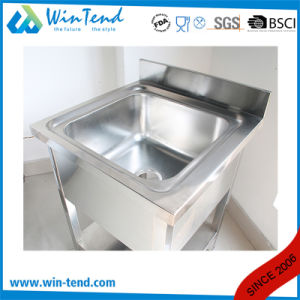 Commercial Stainless Steel Kitchen Undermount Sink with Bottom Shelf pictures & photos