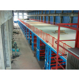 Widely Used Storage Warehouse Platform with Rack Support