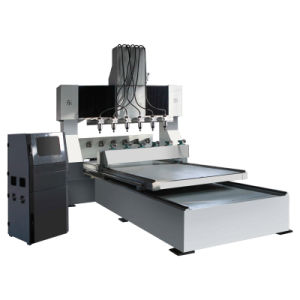 4 Axis CNC Router Machine for 3D Engraving (DT8025-6) pictures & photos