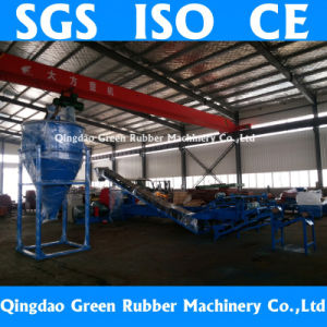 Scrap Tire Recycling Production Line 5~30mesh