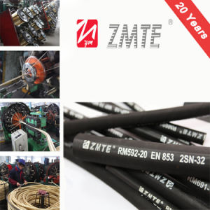 Msha Proved Braided R2 Hydraulic Hose pictures & photos