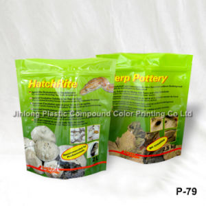 Free-Standing up Pet Food Plastic Bags with Zipper pictures & photos