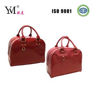 New Fashion Red Shiny PU Lady Tote Bag pictures & photos