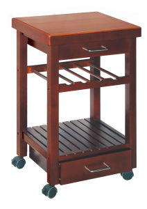 Wooden Dining Cart (HX1-3001A)