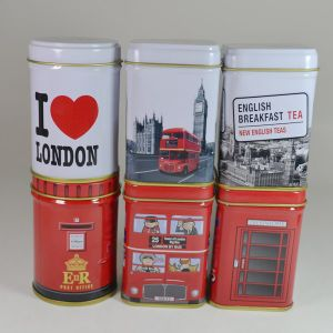 English Afternoon Tea Tin Box pictures & photos