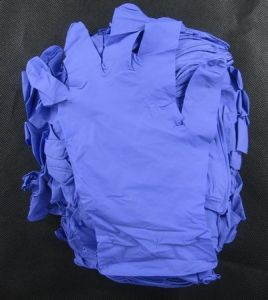 Stock and Hot Sold for Purple Color Disposable Nitrile Gloves, Powder Free pictures & photos