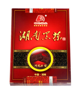 100g Paper Bpx Chocolate Tea Dark Tea pictures & photos