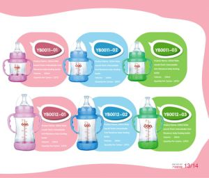 China Neutral Borosilicate Glass Baby Feeding Bottle pictures & photos