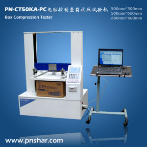 Carton Box Compression Strength Testing Machine for Compression Testing pictures & photos