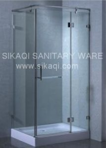 Frameless Shower Enclosure S-9816 pictures & photos