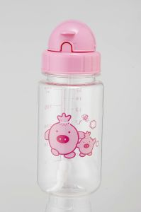 450ml Kid′s Bottle With Straw (XL-005-A)