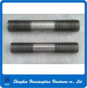 High Strength Carbon Steel Headless Double Thread Rod Stud Bolt pictures & photos