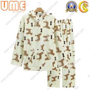 Women′s Pajamas with Coral Fleece (UWP03)