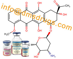 99.6% High Purity Powder Daunorubicin Hydrochloride (CAS: 23541-50-6) 20mg pictures & photos