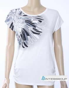 Lady′s T-Shirt (BG-L154) pictures & photos