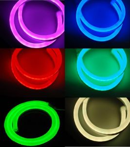 CE EMC LVD RoHS Two Years Warranty, RGB LED Neon Flex Rope Light -Full RGB Color (LSM, ULM) pictures & photos