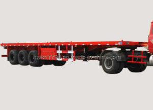 40′ Container Semitrailer (LS9403TJZP red)
