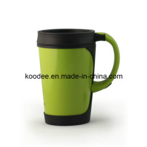 Double Wall Plastic Coffee Mug