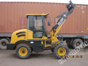 Multi-Function Wheel Loader with Hydraulic Quickly Hitch Device (ZL12F) pictures & photos