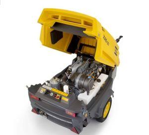 Atlas Copco Portable Screw Air Compressor Xahs107 (XAHS107Kd) pictures & photos