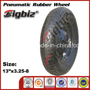 ISO9001: 2008 High Quality Pneumatic Rubber Wheel pictures & photos